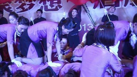 湖北襄阳善水沐足2013新年年会视频