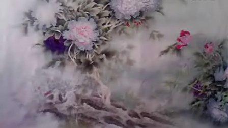【郭老师画的画 —— 宽幅牡丹 过程】