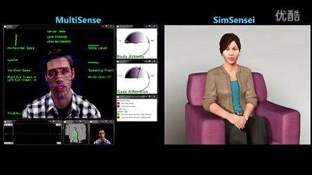 SimSensei &amp_ MultiSense_ Virtual Human and Multimodal Per