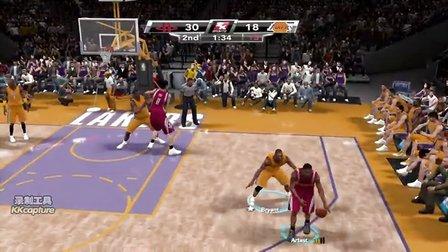 NBA2K9:谨以此片献给喜欢火箭队的球迷们