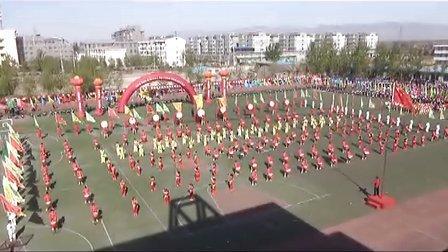 新绛县2013三球及趣味运动会开幕式