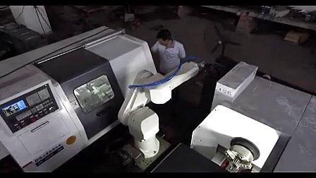 机床上料机器人工业机器人机床上下料(一拖四)