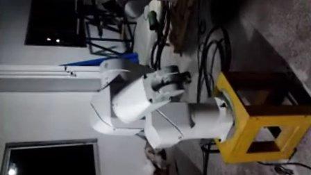 喷涂机器人工业机器人测试速度