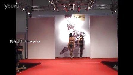疯马上传-某内衣品牌T台惹火模特秀13