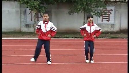 始兴县实验小学乒乓球韵律操分解动作