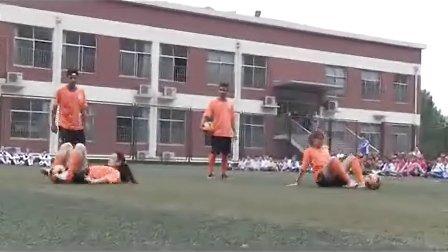 鲁能花式足球队走进济南市纬二路小学育晖分校