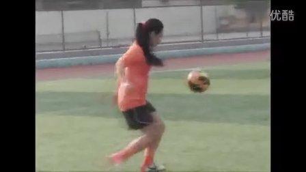 鲁能花式足球走进泉城中学