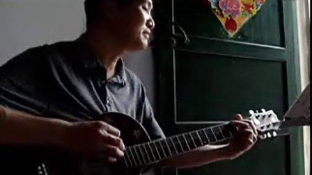 吉他弹《童年2》