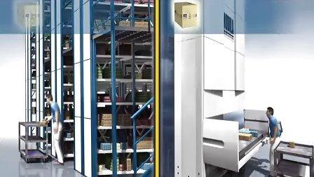立体自动货柜 西斯特姆 MODULA_UK 立体仓库