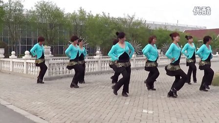 昌邑市石埠旗元广场舞 《火火的姑娘》