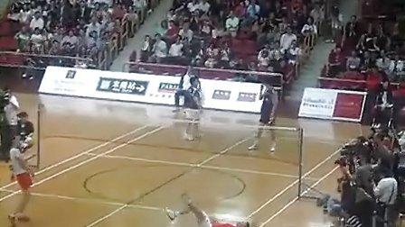 林丹谢杏芳混双比赛视频首次曝光 爱羽客羽毛球网