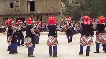 元阳壮族阿努寨三月三节5
