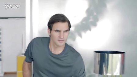 """2013费德勒Nike耐克广告""""Fly Swatter""""超级软底鞋"""