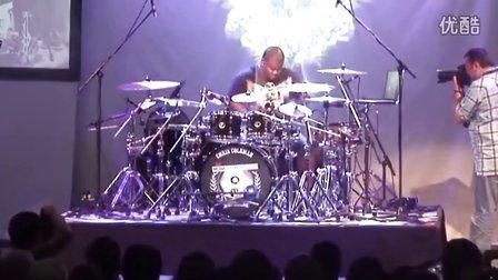 Chris Coleman at the 2010 Meinl Drum Festival