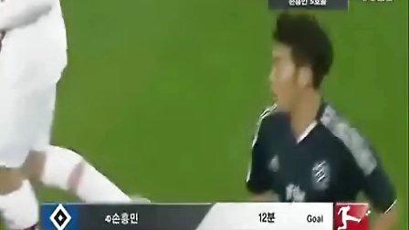 孙兴民12-13德甲赛季集锦