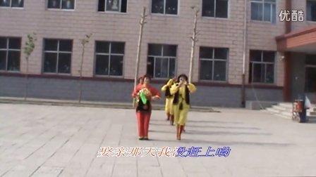 西咬村空港彩虹广场舞(夕阳红队)—爷爷奶奶和我们