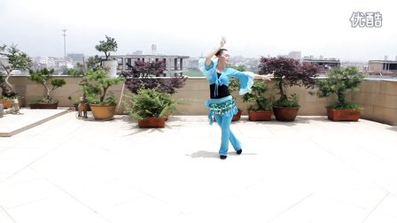 心的舞者广场舞《蓝月谷》个人版 応子编舞