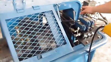 洛阳德平内涨式管道坡口机工作视频