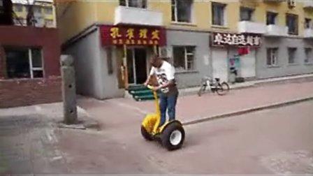 国内最牛的电动两轮车-风行者自平衡车,代步出行安全第一