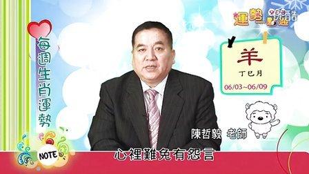 台湾中华电信MOD姓名大师陈哲毅2013年6月3日~6月9日生肖运势(羊)