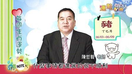 台湾中华电信MOD姓名大师陈哲毅2013年6月3日~6月9日生肖运势(猪)