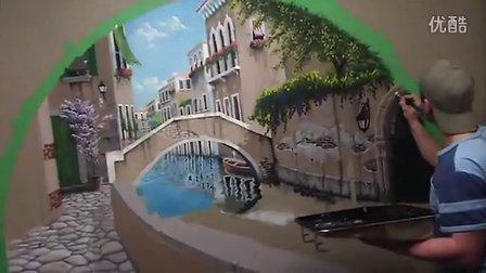 很棒的国外墙绘 Bombelkie paint a Mural
