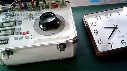 试验变压器满载状态10分钟连续运行试验视频_武汉正弦电力_186071