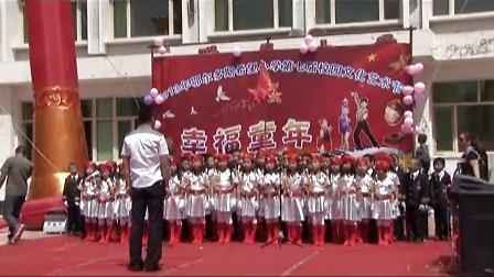 合唱指挥(我们是共产主义接班人、中国朝前走)
