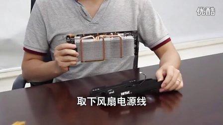 660霹雳版散热器拆装
