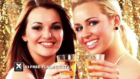 免费 Final Cut Pro X (FCPX)插件XEffects Flare Lights