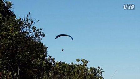 小南山飞行练习,飞大南山做准备。
