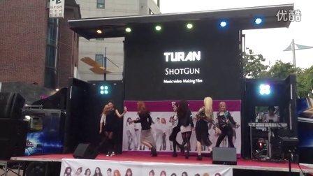 韩国组合TURAN  showcase---KPOP