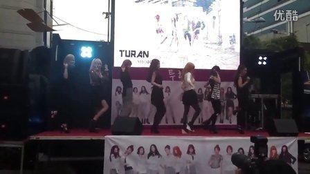 Turan 赵采儿 再韩新艺人。新组合。