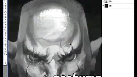 [VIKOOpen绘客数位板课程]美漫野蛮人头部设计技巧七