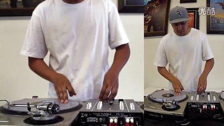搓碟视频Thud Rumble Exclusive TR-1S Professional DJ Mixer