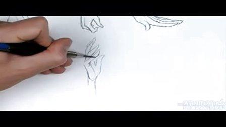 高级动态手脚 漫画教程05