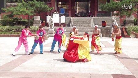 山西鼓王吴自创作品  民俗表演 二娃摔跤 民间艺术