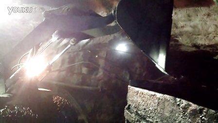 湖北恒力矿用装载机工作视频