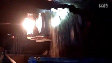 湖北恒力矿用轮胎式扒渣机工作视频