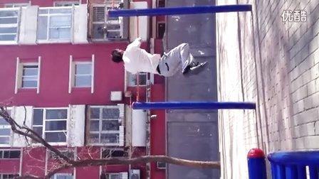北京极限健身单杠转体360 王翊函【E】