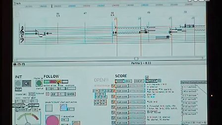 Ircam Score Following Demo Partita I by Philippe Manou