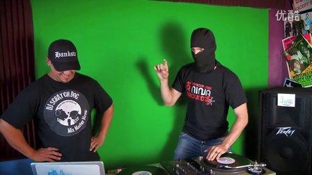The Ninja Song (behind the scenes) - DJ NINJA SCRATCH[搓碟网