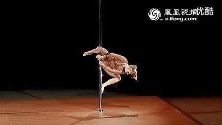 2012美国钢管舞大赛冠军Michelle Stanek震撼表演