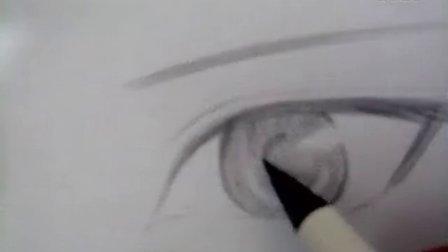 手绘漫画眼睛~