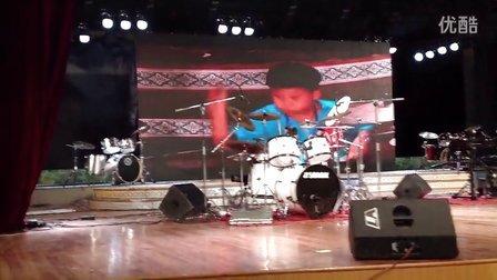 第五届全国鼓手大赛华东南赛区儿童B组亚军项博浩 乐清柳市学爵士鼓 架子