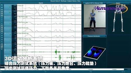 美国Noraxon 3D三维运动分析系统3D步态分析系统