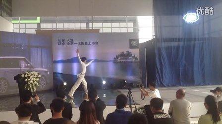 郑州车展揭幕舞蹈节目