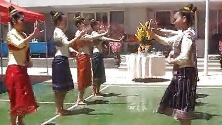 昆明老挝留学生大使馆秀舞