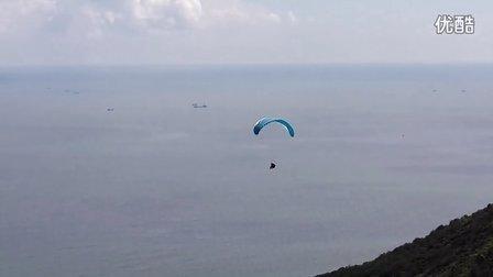 滑翔伞-珠海-荷包岛-滑翔伞第一次带飞