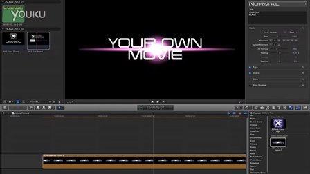 fcpx字幕模版-XEffects Movie Promo 2